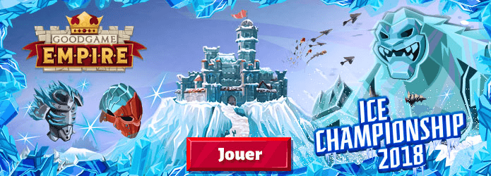 Goodgame Empire : participez au grand Championnat des Glaces 2018