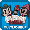 jeu cartoon poker multijoueur