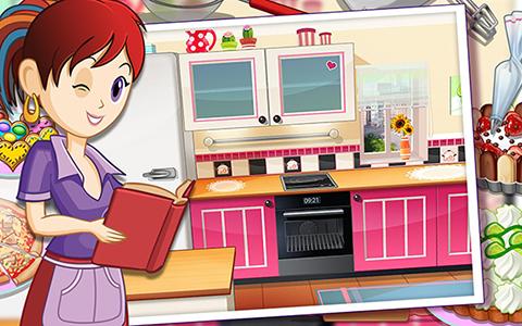 Finest application ecole de cuisine de sara dmo sur ipad iphone et android with jeux de fille - Jeu de cuisine avec sara gratuit ...