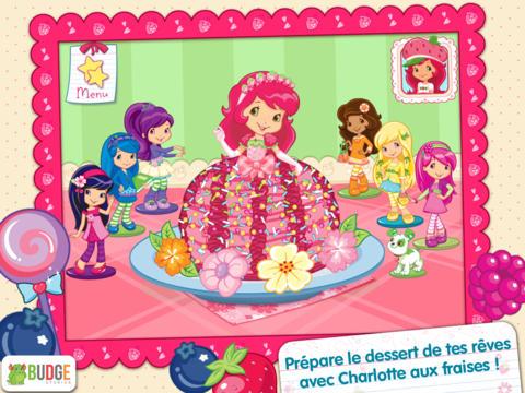 Application cuisine charlotte aux fraises sur ipad iphone - Jeux de charlotte aux fraises cuisine gateaux ...