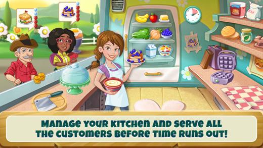 application kitchen scramble sur ipad, iphone et android