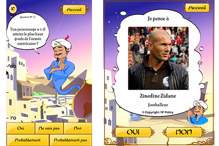 application akinator the genie sur ipad iphone et android. Black Bedroom Furniture Sets. Home Design Ideas