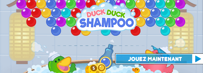 Duck Duck Shampoo : les bulles du Bubble Shooter viennent d'un bain moussant, on le sait maintenant